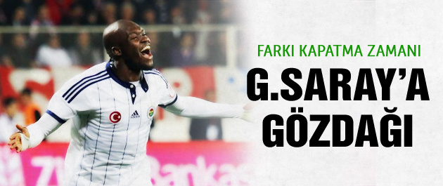 Moussa Sow'dan Galatasaray'a gözdağı