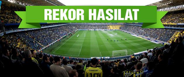 Fenerbahçe derbide rekor hasılat bekliyor