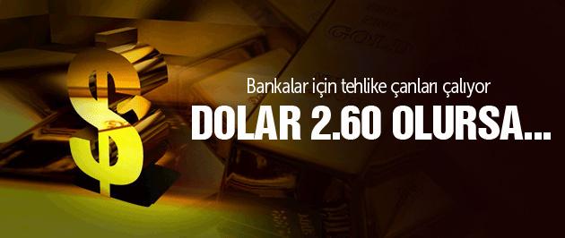 Dolar son dakika yeni zirve dolar 2.58'i aştı