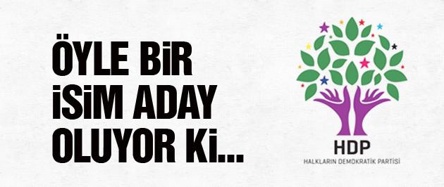HDP'den 2015 genel seçimi için bomba aday!