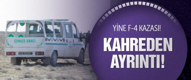 Konya'da askeri uçak düştü! Pilotlardan kötü haber