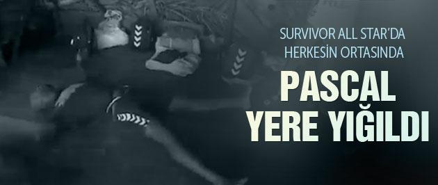 Survivor Pascal Nouma'nun üzerine yürüdüler