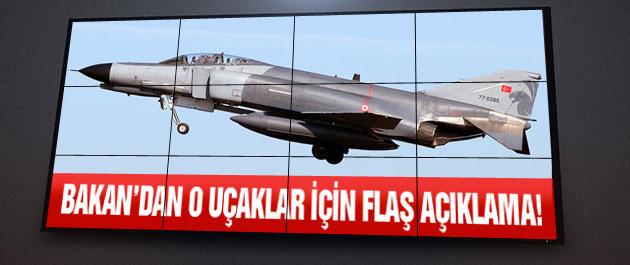 Bakan Yılmaz'dan F-4 uçakları için flaş açıklama!