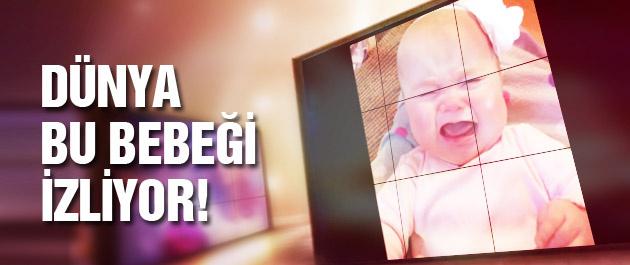 İşte dünyayı gülümseten bebek!