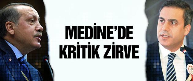 Erdoğan ve Hakan Fidan'dan Medine zirvesi!