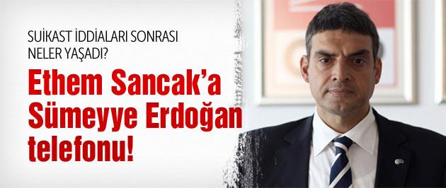 Sümeyye Erdoğan'a suikast iddialarına kafayı taktı!