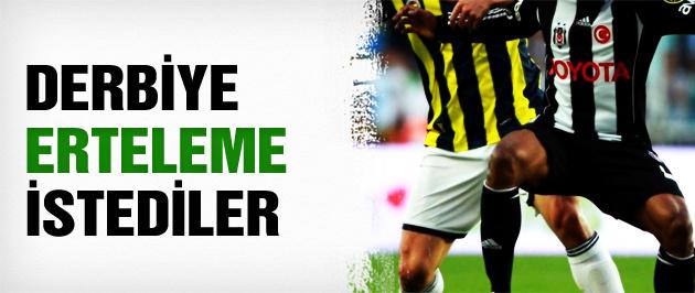 F.Bahçe-Beşiktaş derbisi tehlikeye girdi