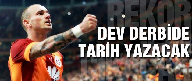 Sneijder için tarihe geçme fırsatı