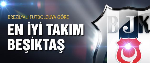 Cicinho'ya göre en iyisi Beşiktaş