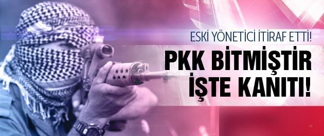 Eski yönetici itiraf etti PKK artık bitmiştir!