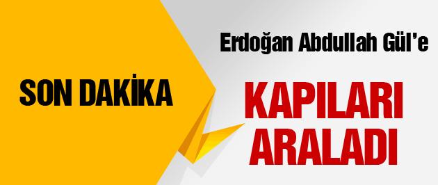 Erdoğan'dan son dakika Abdullah Gül açıklaması