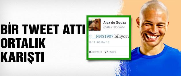 Alex bir tweet attı ortalık karıştı