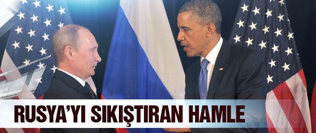 ABD'den Rusya'yı sıkıştıracak hamle