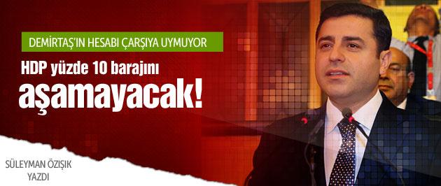 HDP yüzde 10 barajını aşamayacak!