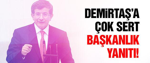 Başbakan Davutoğlu'ndan Demirtaş'a flaş cevap!