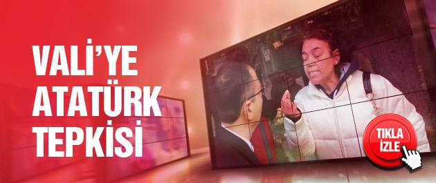 İzmir'deki törenlerde Atatürk tepkisi!