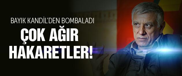 Cemil Bayık'tan Erdoğan'a çok çirkin sözler!
