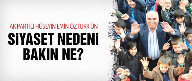 AK Parti Hüseyin Emin Öztürk 'Çocuklar için siyaset' dedi