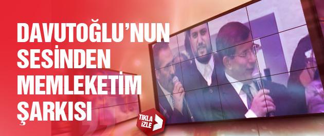 Ahmet Davutoğlu şarkı söyledi işte o video