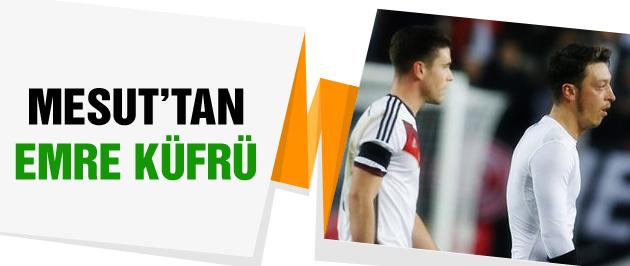 Mesut Özil hakeme küfür etti