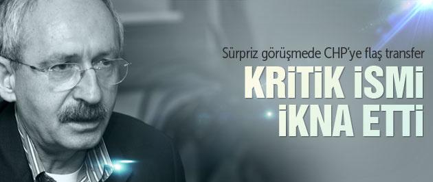 Kılıçdaroğlu CHP için Kemal Derviş'i ikna etti