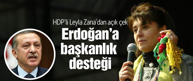 Leyla Zana'dan Erdoğan ve başkanlık yorumu