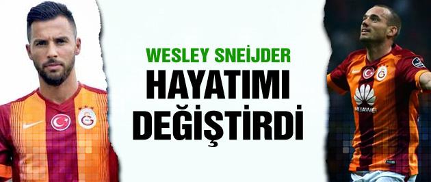Yasin Öztekin: Sneijder hayatımı değiştirdi