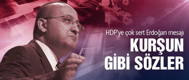 Akdoğan'dan HDP'ye Erdoğan tepkisi