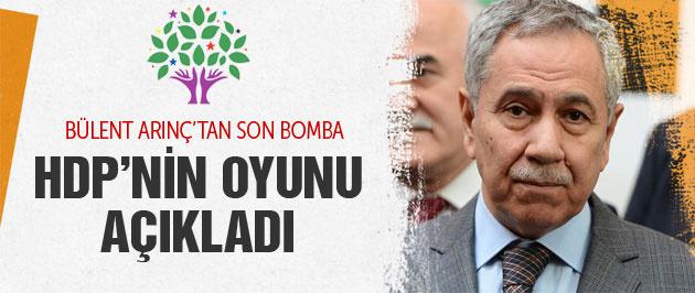 Bülent Arınç HDP'nin oy oranını açıkladı