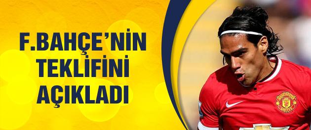 Falcao Fenerbahçe'nin teklifini açıkladı