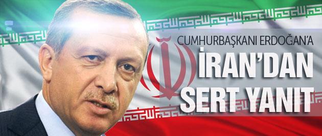 İran'dan Erdoğan'a sert yanıt