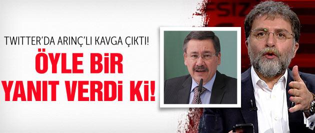 Ahmet Hakan Melih Gökçek'e öyle bir yanıt verdi ki!