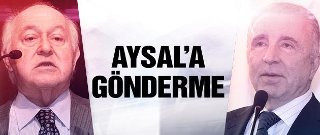Yarsuvat'tan Aysal'a gönderme