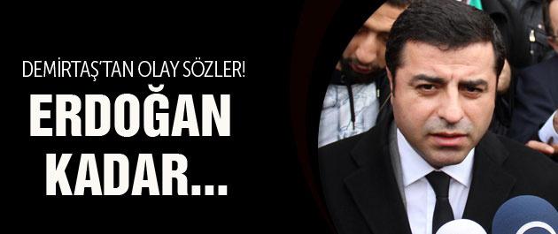 Selahattin Demirtaş: Erdoğan kadar seviyesiz değilim!