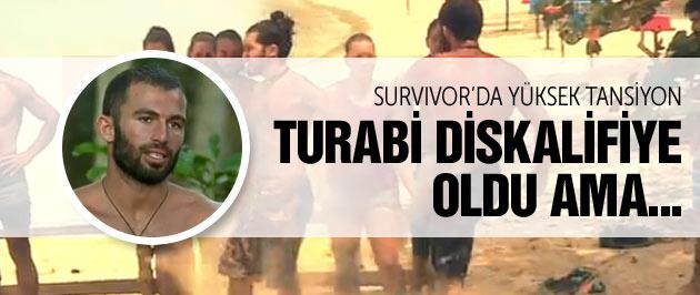 Survivor Turabi diskalifiye oldu ama işte o anlar