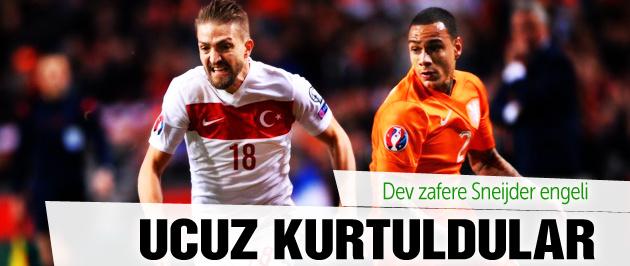 Türkiye Hollanda maçı sonucu