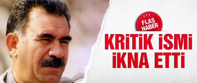 2015 genel seçimleri için Öcalan kritik ismi ikna mı etti