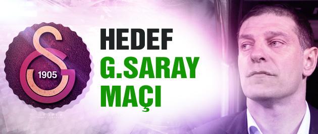 Bilic'in hedefi Galatasaray maçı