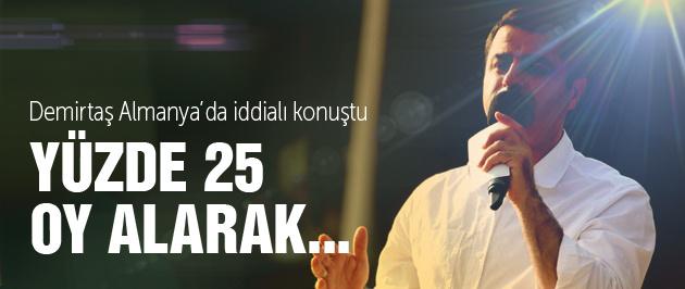 Selahattin Demirtaş iddialı konuştu!