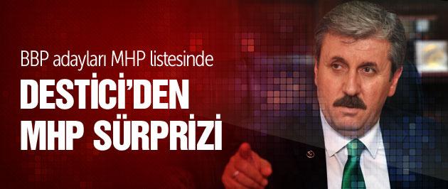 BBP lideri Destici'den bomba MHP kararı!