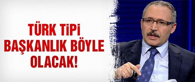 İşte Cumhurbaşkanı Erdoğan'ın kafasındaki Başkanlık modeli