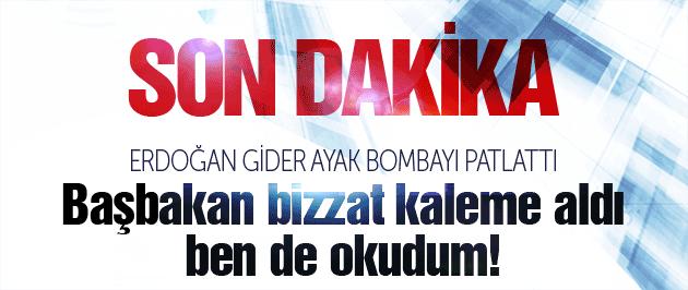 Erdoğan'dan son dakika Başkanlık sistemi açıklaması