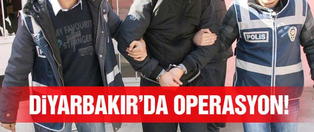 Diyarbakır'da SBS operasyonu!