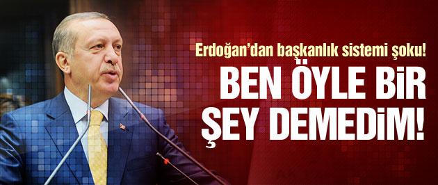 Erdoğan'dan o sözlere açıklama!
