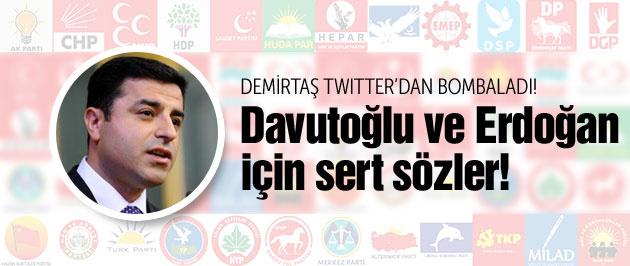 Demirtaş'tan Davutoğlu'na Erdoğan çağrısı!