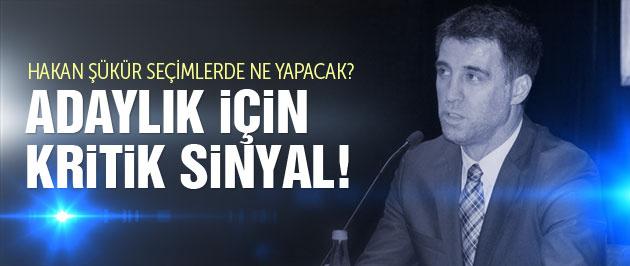 Hakan Şükür'den vekillik sinyali!