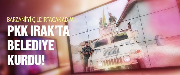 PKK Irak'ta belediye kurdu!