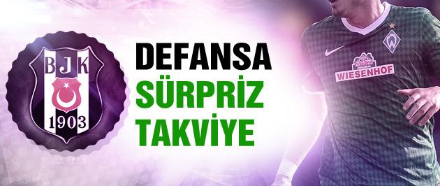 Beşiktaş'ta defansa sürpriz isim