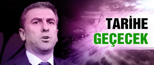 Hamzaoğlu G.Saray tarihine geçecek