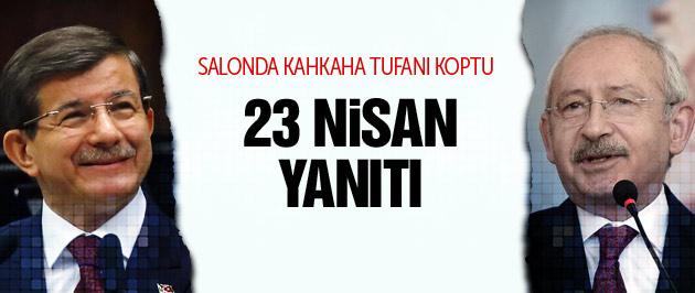 Davutoğlu Kılıçdaroğlu'nun hayalini Ti'ye aldı